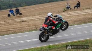 Dritter Start in Frohburg, dritter Sieg: Stefano Bonetti auf der Paton.