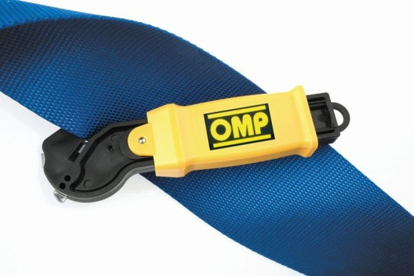 OMP Emergency Harness Cutter Seat Belt Safety Tool Racing