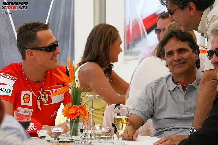 Com Nelson Piquet