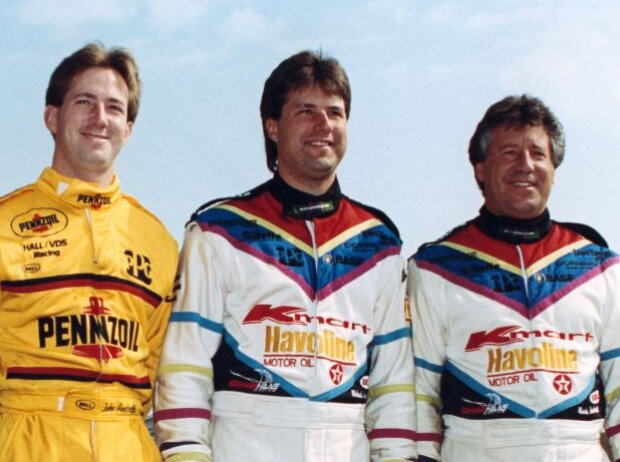 John Andretti, Michael Andretti, Mario Andretti