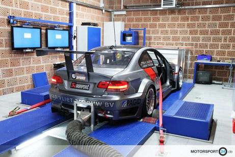 Prüfstand BMW M3 GTR E92