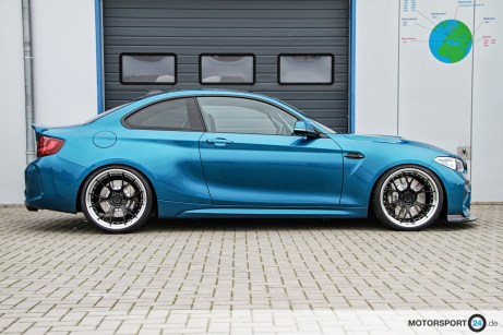 BMW M2 F87 Clubsport 20 Zoll NTM Racing + INTRAX 1K2
