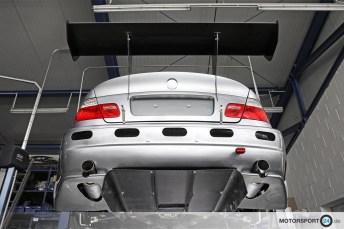 BMW M3 E46 GTR Diffuser Heckflügel
