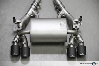 BMW M4 F82 Remus Exhaust System