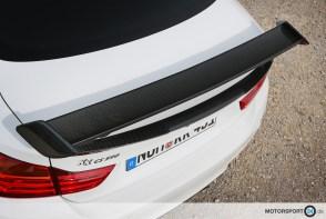 Trackday Heckflügel Carbon BMW M4 / M3
