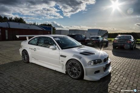 BMW M3 E46 GTR mit Straßenzulassung