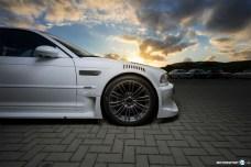 BMW M3 E46 GTR Front Räder Rennwagen