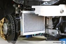 MOTORSPORT24 Zusatzkühlmittelkühler Wasserkühler Race
