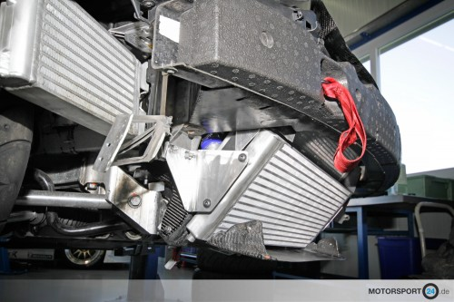 BMW M3 E92 Rennsport Kühlsystem