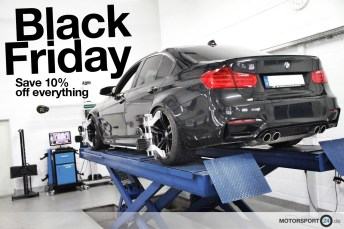 Black Friday 10% Rabatt MOTORSPORT24