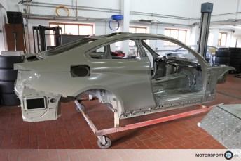 Rohkarosserie BMW M4 F82 GTR