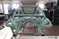 Rennfahreugbau BMW M4 GTR Vorbereitung