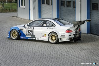 Light Race Car BMW M3 E46 GTR Body Kit