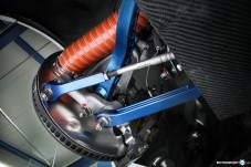 BMW M4 GTR Vorderachse Carbon GTR Achsen Belüftung Bremse