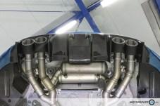 BMW M2 F87 DTM Style Heckdiffuser