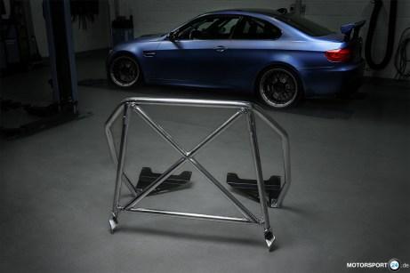 BMW M3 E92 Clubsport Bügel geschraubt