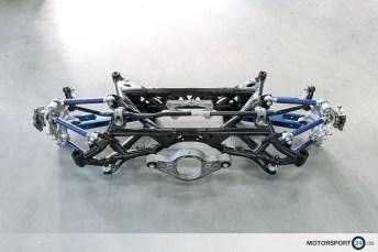 BMW M2 GTR Achse
