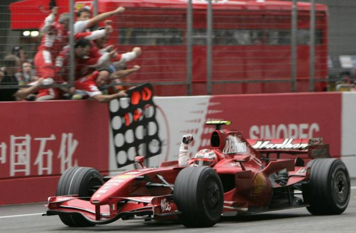 Raikkonen GP Cina 2007