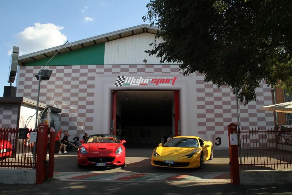 Nuevo local Motorsport Maranello