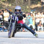 Girl Power comes to Stunt Biking