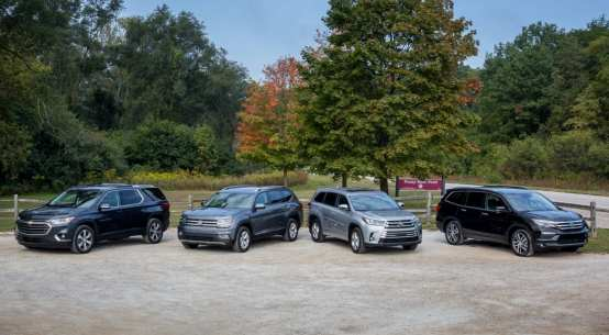 Buying new or used SUV car