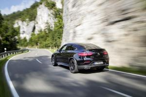 2017 Mercedes-AMG GLC43 Coupe (European model shown)