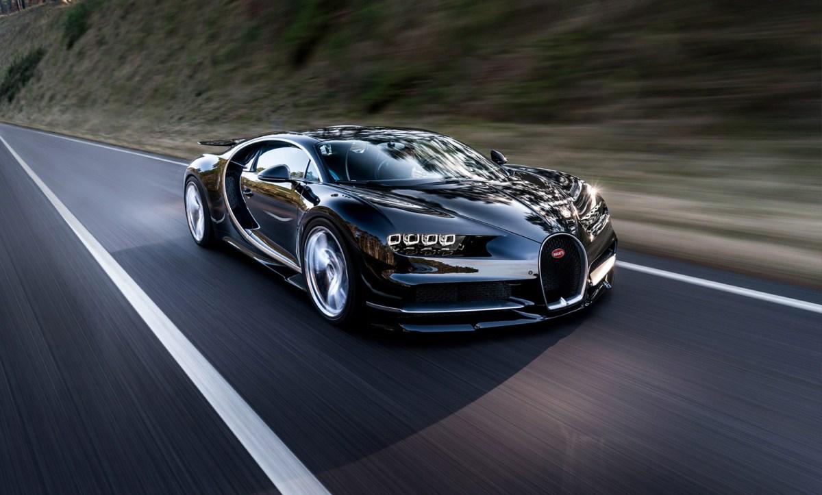 Como foi gravado o recorde do Bugatti Chiron?
