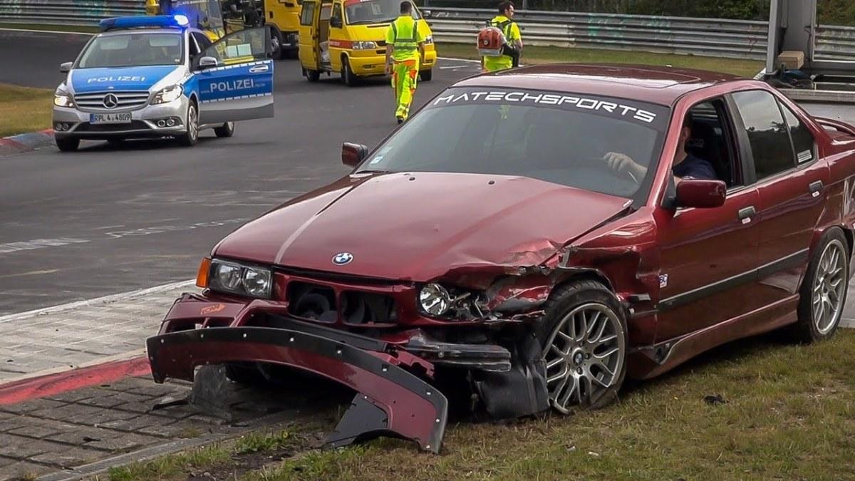 Os piores acidentes em Nurburgring de 2017