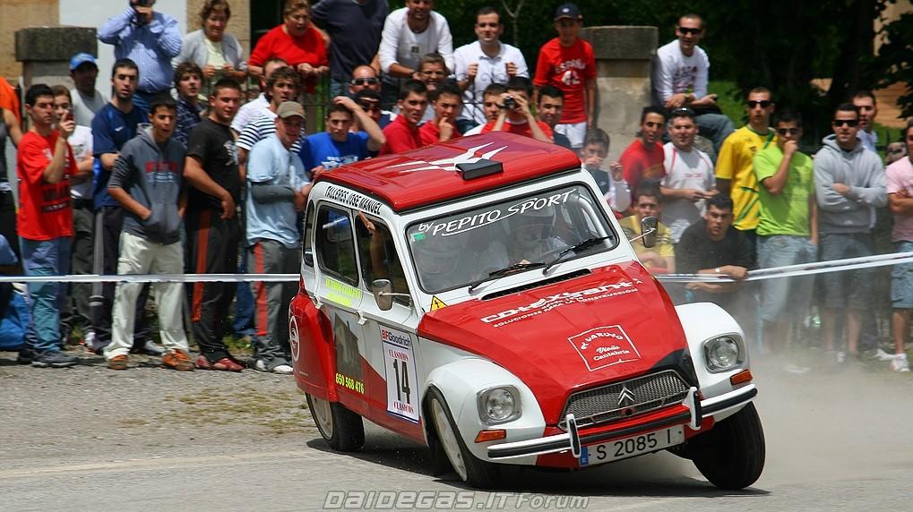 Citroen 2CV um dos melhores carros de rally de sempre?
