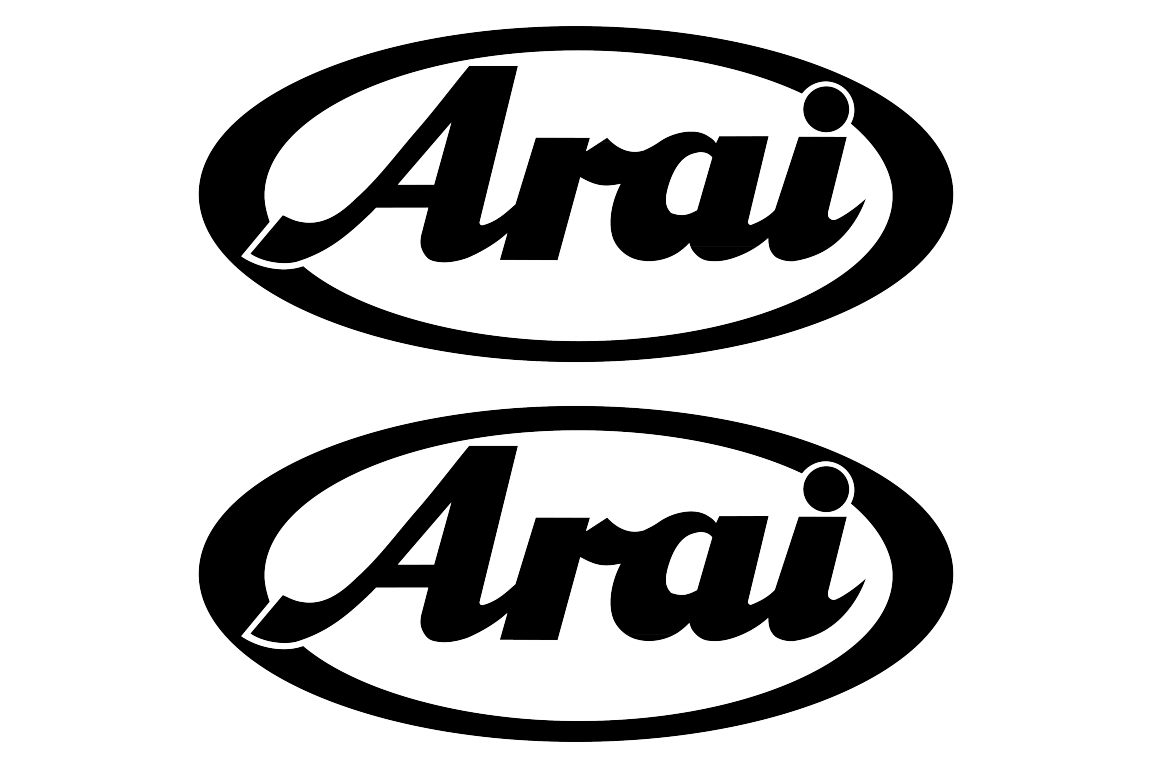 Arai Logo Stickerschoose The Color Yourselfand Select The Size