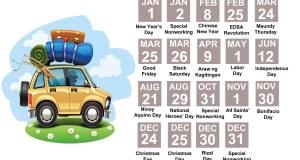 2016 Public Holidays that motorists should look —