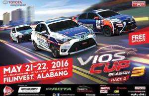 Toyota PH kicks off 2nd Leg of 2016 Vios Cup