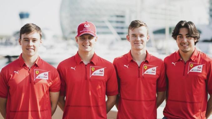 Pilotos de la Academia Ferrari