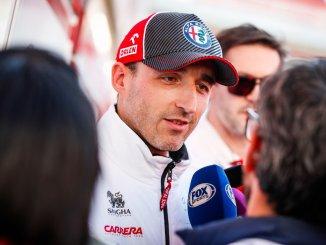 Kubica en Barcelona