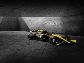 Presentación de la nueva livery de Renault