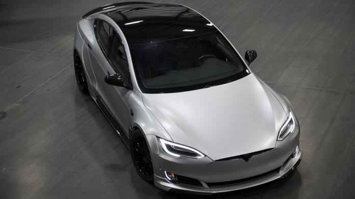 Unplugged Performance Wide Body Kit For Tesla Model S Starts At 50 000