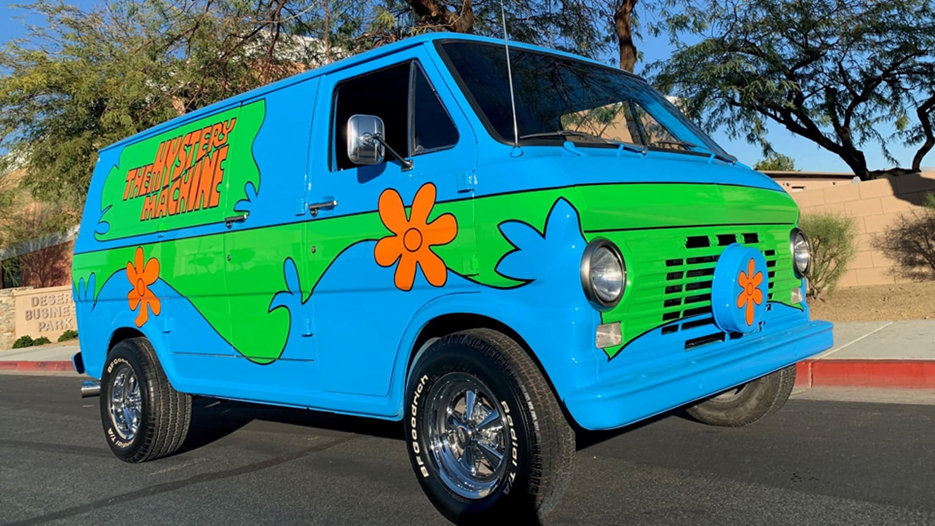 Scooby Doo Mystery Machine Clone Is The Perfect Ride For