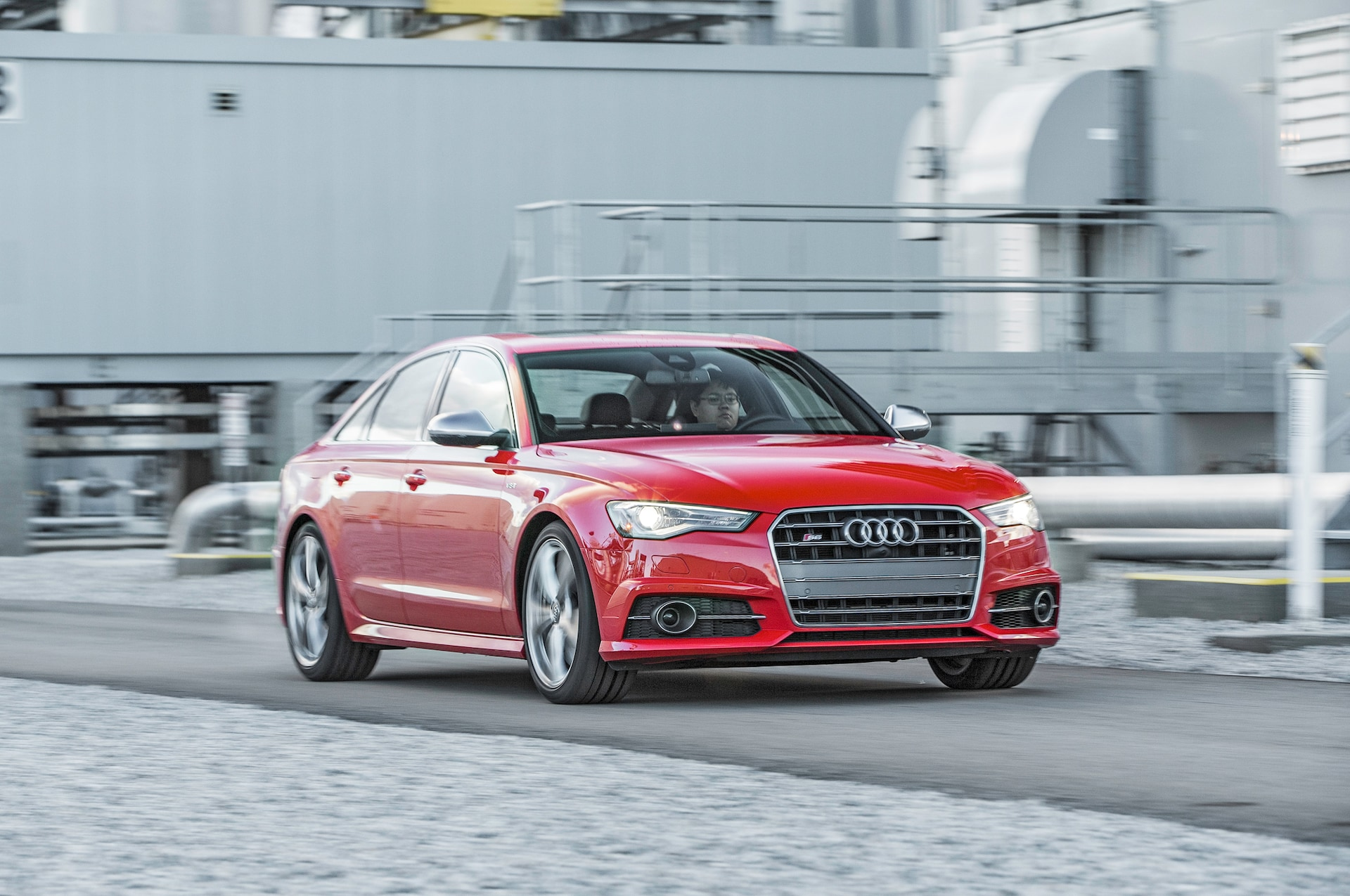 2016 Audi S6 40T Quattro front three quarter in motion