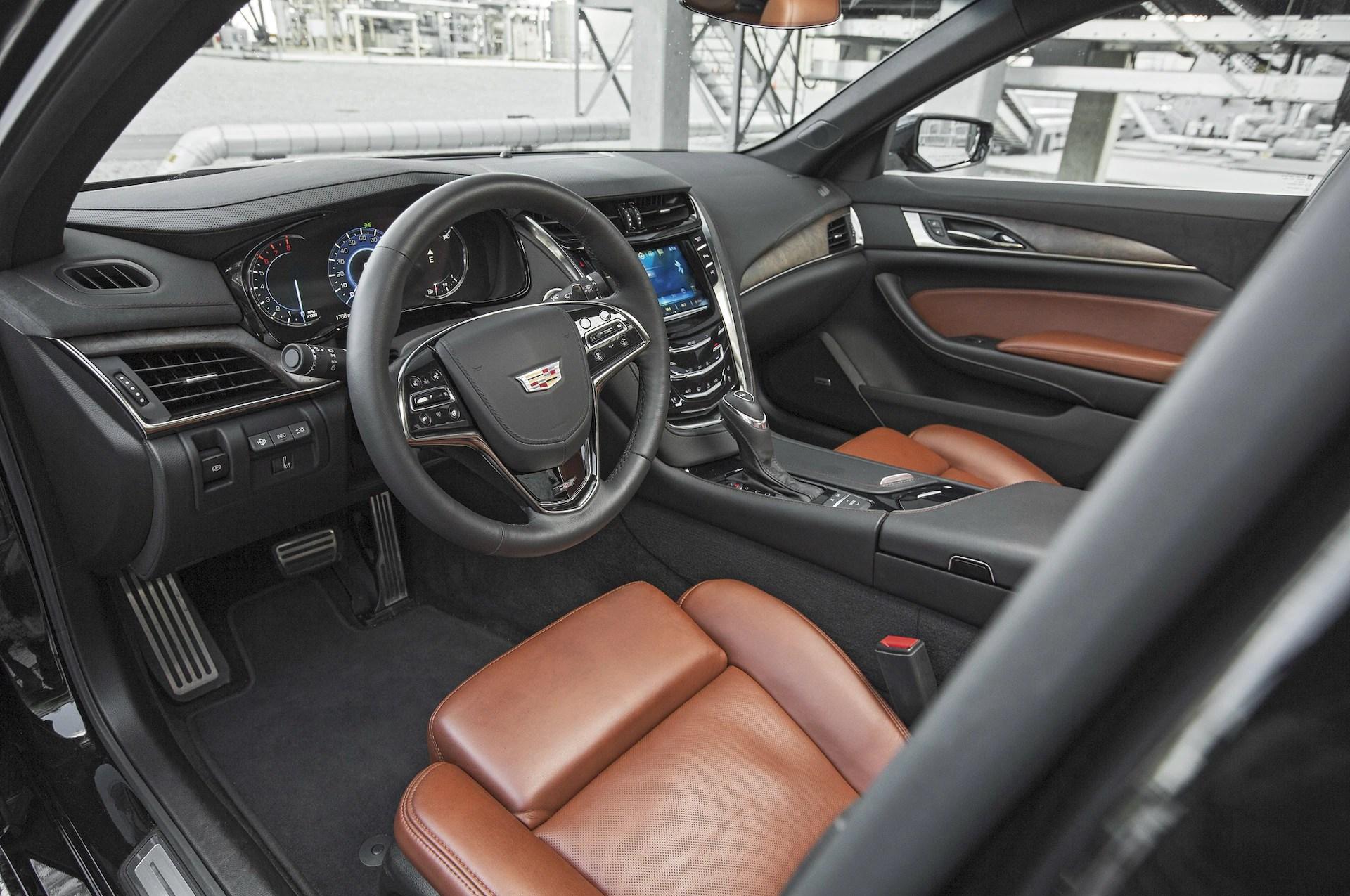 2016 Cadillac CTS V Sport interior