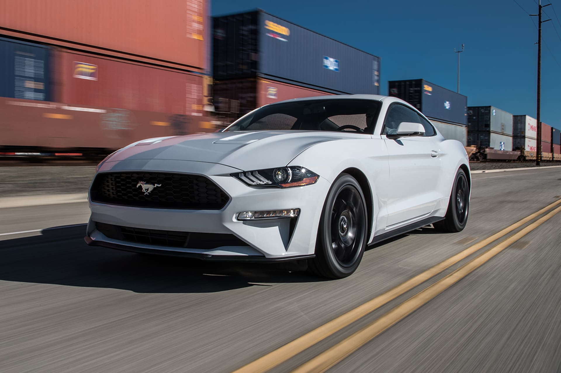 2018 ford mustang ecoboost first test