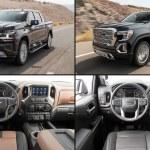 2019 Chevrolet Silverado High Country Vs 2019 Gmc Sierra Denali Interior Comparison
