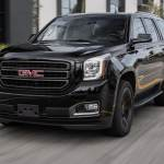 2019 Gmc Yukon Graphite Performance Edition First Test Blacked Out Battering Ram