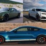 Refreshing Or Revolting Shelby Gt500 Vs Camaro Zl1 Vs Challenger Hellcat Redeye
