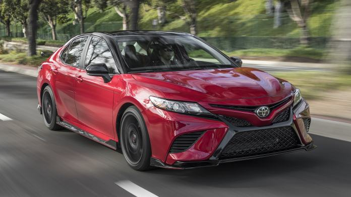 2020 Toyota Camry Trd First Test A Good Use Of The Trd Name