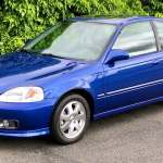 A 20 Year Old 2000 Honda Civic Si Just Sold For 50 000
