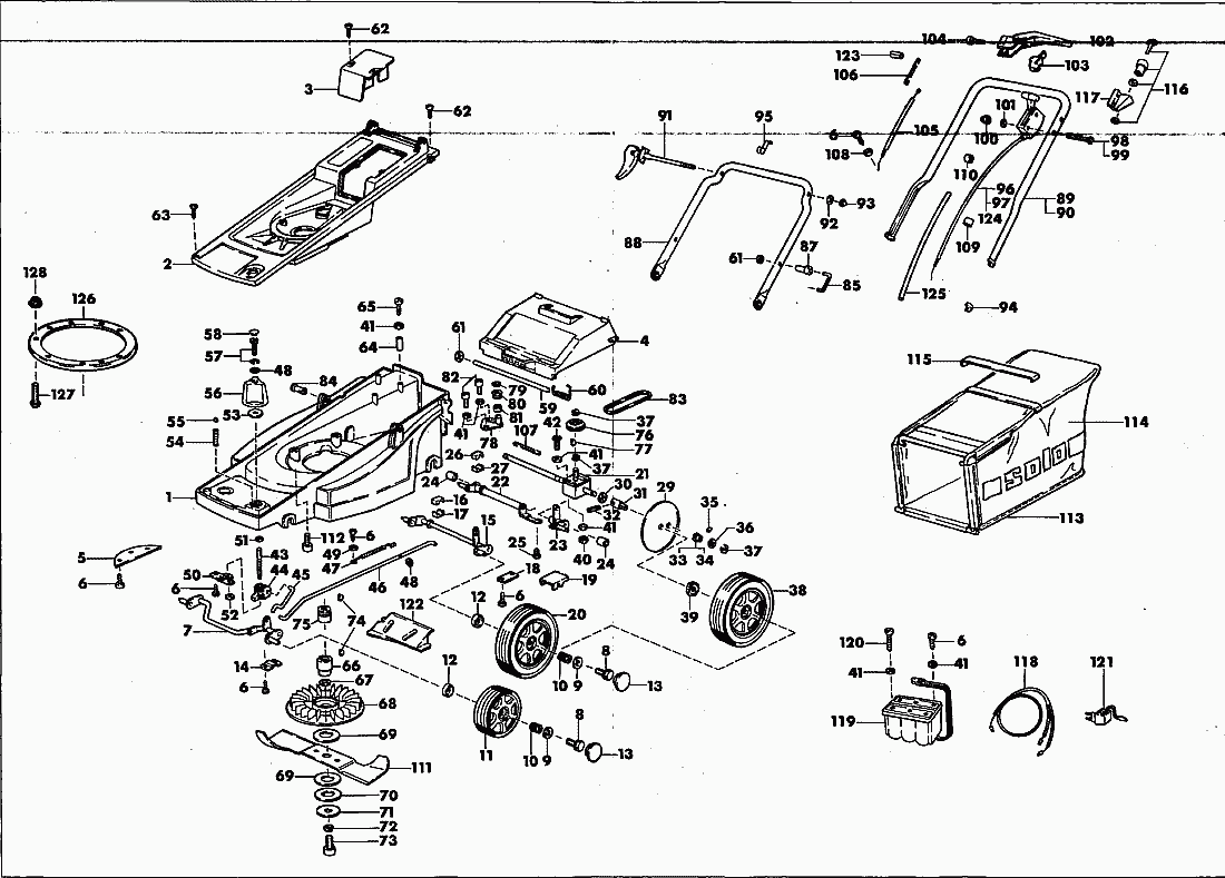 Spare Parts Lists For Solo Lawn Mower Spare Parts List Kpl
