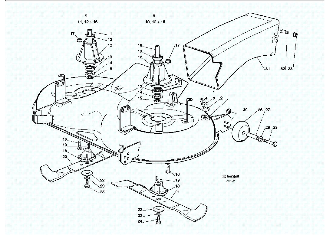 Ersatzteillisten Fur Solo Rasenmaher Schneidwerkzeug 2