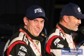 David Křípal při loňské besedě ve Velkém Meziříčí do dojezdu Rally Dakar 2018