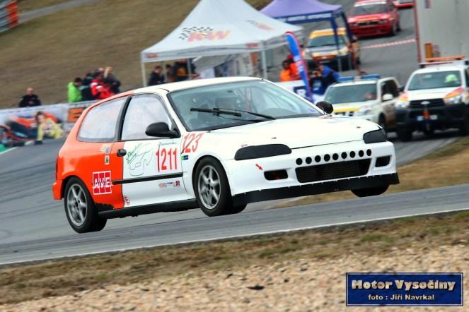 15 - Zdeněk Podpěra - Honda Civic Vti - Skalda Racing