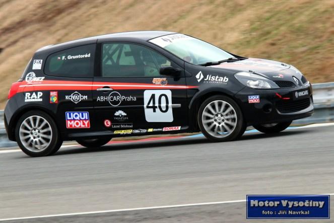 20 - František Gruntorád - Renault Clio RS - Auto Racing Team Praha